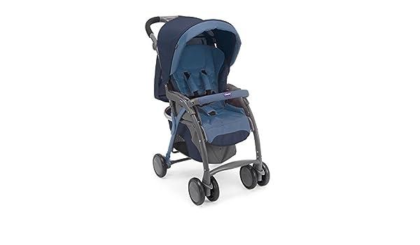 06079482800000 Cochecito Chicco Simplicity Plus Top, azul: Amazon.es: Bebé