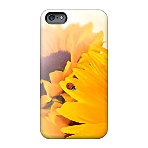 Bumper Hard Cell-phone Case For Apple Iphone 6s With Custom Trendy Sunflower Ladybug Fun Series MarcClements
