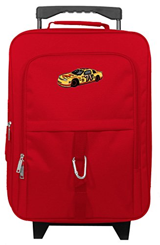 Little Kids In Suits (Kids Travel Zone Little Boys' Nascar Suitcase in Red)