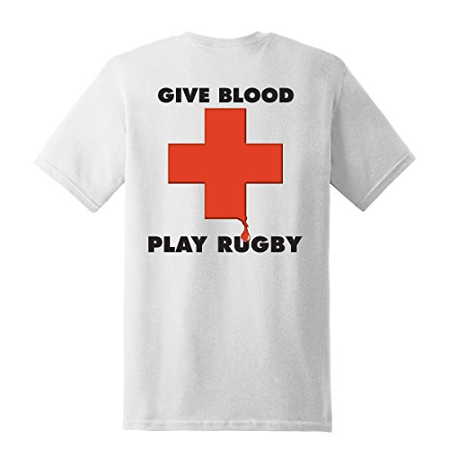 Give Blood - Play Rugby T-Shirt - M