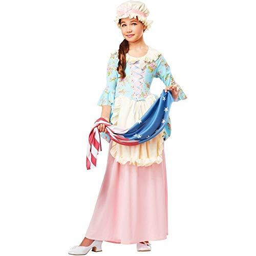 California Costumes Colonial Lady/Betsy Ross/Martha Washington/Ch Costume,