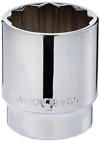 Blackhawk By Proto 40134 12-Point Drive Socket, 1/2-Inch