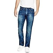 GUESS Men's Regular Straight Jeans