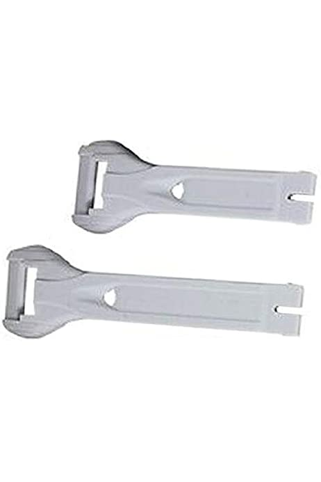 GAERNE REPLACEMENT STRAPS WHITE 4645-002 LONG STRAP WHITE