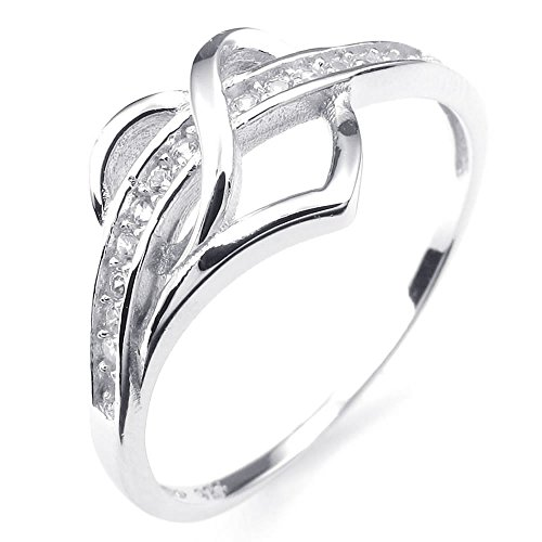 Classic 925 Sterling Silver Ring - 8