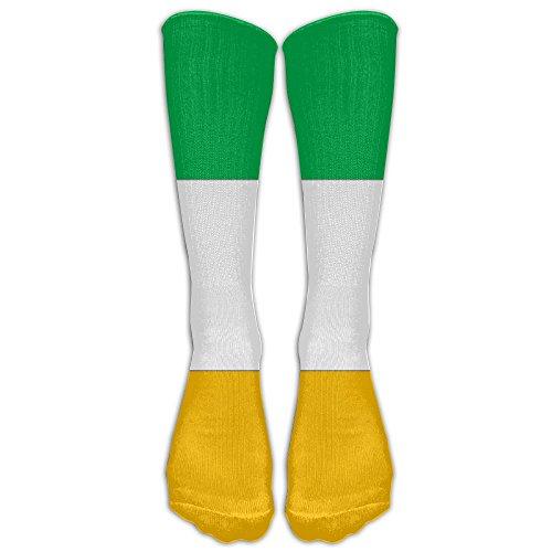 Paraguay Costume For Women (Ireland Flag Athletic Tube Stockings Women Men Classics Knee High Socks Sport Long Sock One Size)
