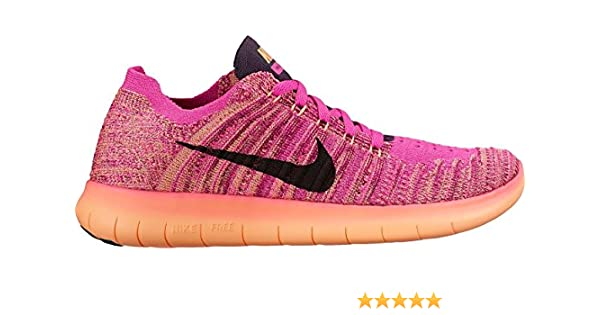 08133b5f2f60 Amazon.com  Nike Kid s Free RN Flyknit GS Running Shoes  Sports ...
