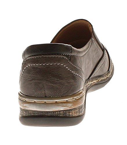 Femme Chaussures Pour Chunsen Gris Noir qqxfwUvBr