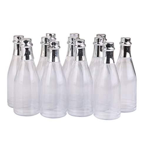 Champagne Party Favors (12PCS Champagne Bottles Candy Bottle Box Shower Party Favors)