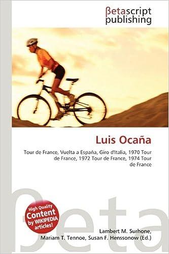 Luis Ocana: Amazon.es: Surhone, Lambert M, Tennoe, Mariam T ...