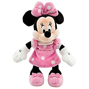 Disney 8″ Minnie Mouse in Pink Dress Plush