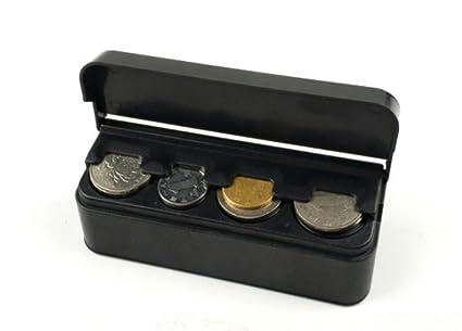 Easy-topbuy Monedero Euro Coche Cajas de caudales portefeuilles clasificador de Monedas de