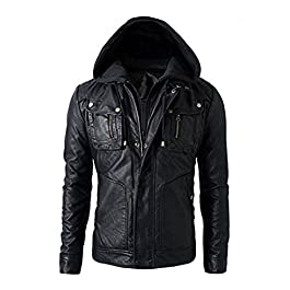 Luis Leather Men's Biker Jacket