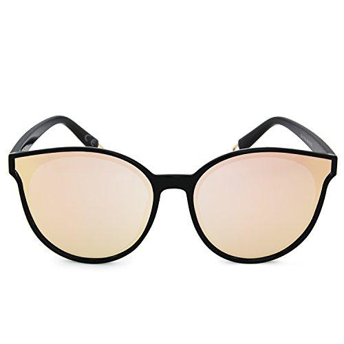 Classic Big Cat Driving Mirror Sole da Eye Rose Fashion Lens donna Amztm Occhiali df5xFqwdS