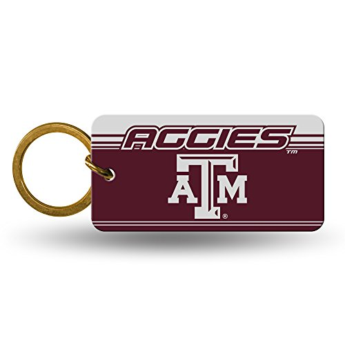 s Official NCAA 2 inch Crystal View Key Chain Keychain by 305314 ()