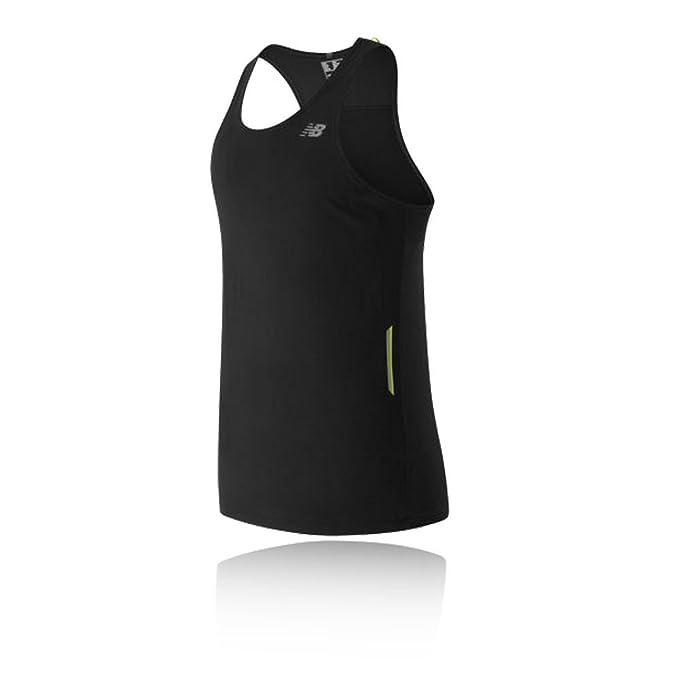 f6be32fdff872 Amazon.com: New Balance Men's Ice Singlet, Black, XX-Large: Clothing