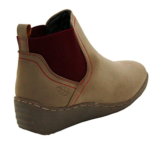 Shoe Womens Ladies Ankle Boots Chelsea Sizes Natrelle Girls Stone Gusset Riding Twin On Pull Flat dPwfAq