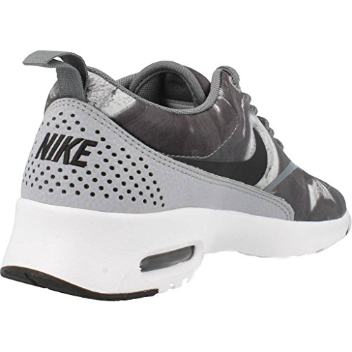 Nike Dame Air Max Thea Løbesko Sort / Ulv Kølig Grå dbP4QAxJO