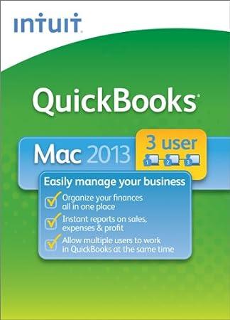 QuickBooks for Mac 2013 - 3 User [Download]
