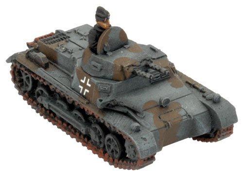 War German Panzer (Flames of War - German: Panzer I B (x2))
