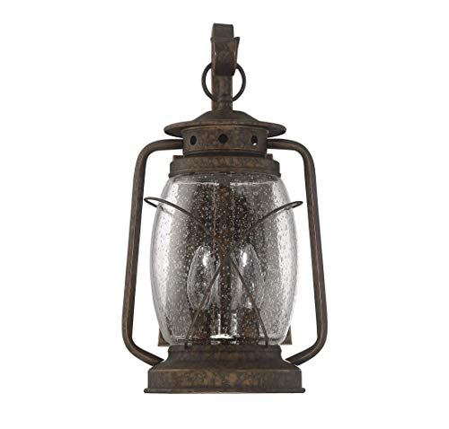 Savoy House 5-3411-56 Three Light Wall Mount Lantern (Smith Mountain New Tortoise Shell)