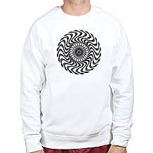 Optical Illusion Magic Trick Geek Nerd Sweatshirt