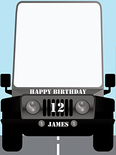 Personalized Car Photo Booth Prop - sizes 36x24, 48x36; PersonalizedGiant Jeep, Car photo booth, Car photo props, Army Jeep Style Home Decorations, Handmade Party Supply Photo Booth - Style Wall Booth