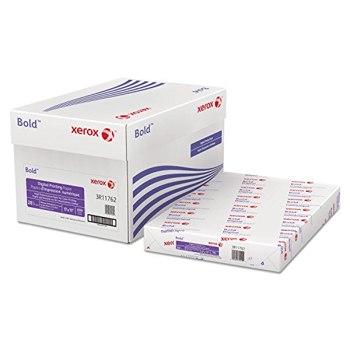 Xerox Digital Color Xpressions Elite Laser Paper, 28 lb, 11 x 17 Inches, Blue/White, 500 Sheets (3R11762)
