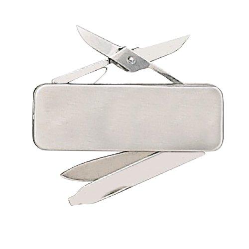 Fury Sporting Cutlery 44473 Money Clip, 2.25 in., Blade/File/Scissors w/Clip