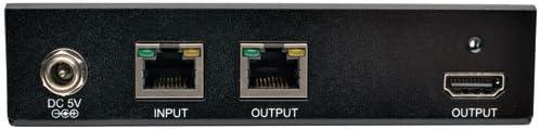 Up to 230 ft. Serial and IR 4Kx2K UHD Tripp Lite HDBaseT HDMI Over Cat5e//6//6a Extender Transceiver 70 m BHDBT-TR-SI
