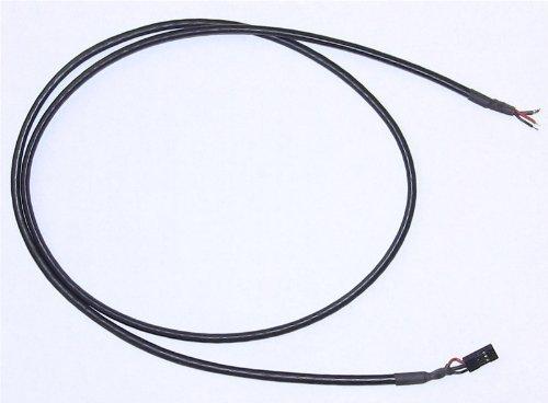 3-pin Female-Bare Shielded - Center Shielded
