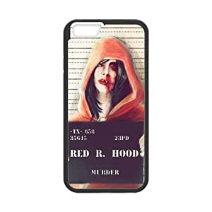 iPhone 6 Plus 5.5 Inch Cell Phone Case Black Red Riding Hood YW5979037