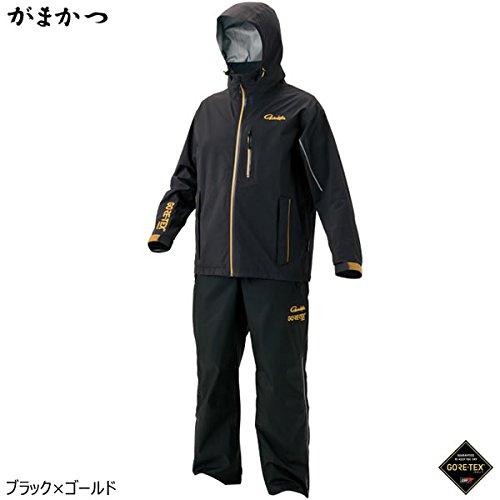 今季一番 がまかつ L ゴアテックス GM-3484 レインスーツ(C-Knit) GM-3484 ブラック/ゴールド L がまかつ B076Z64B9W, 日本製:924c98b2 --- martinemoeykens.com