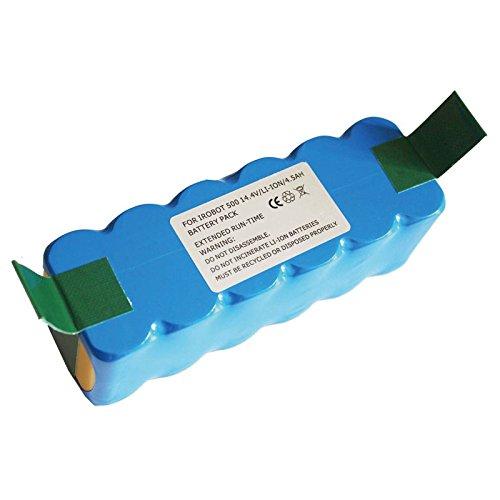 MaximalPower Li-ion High Capacity Replacement Battery For iRobot Roomba 500 600 700 800 Series (4500mAh Capacity)