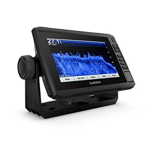 Garmin 010-01893-01 Echomap Plus 73Cv with CV22HW-TM transducer, 7 inches