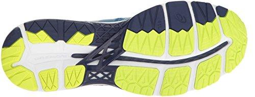 Men Shoe Running Thunder Kayano 23 Yellow Indigo Blue Gel Blue ASICS Safety pqZ6T