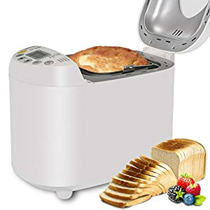 19 Promgrams Multi-functional Adjustable Bread Maker Safe Automatic Power-off