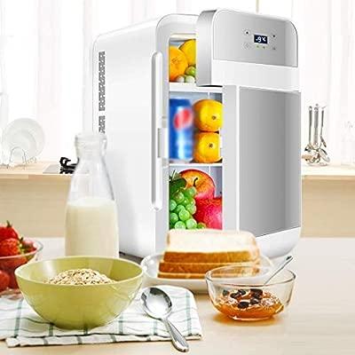 BYNNCR Refrigerador Refrigerador De Doble Núcleo Mini Dormitorio ...