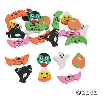 "720 (5 Gross) ~ Mini Halloween Erasers ~ 1/2"" to 1"" ~ New"