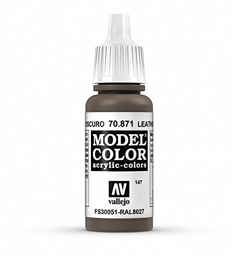 Vallejo Leather Brown Paint 17ml product image
