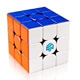 D-FantiX Gan 356 R 3x3 Speed Cube Stickerless Gans 356R 3x3x3 Magic Cube Puzzle GES V3 System