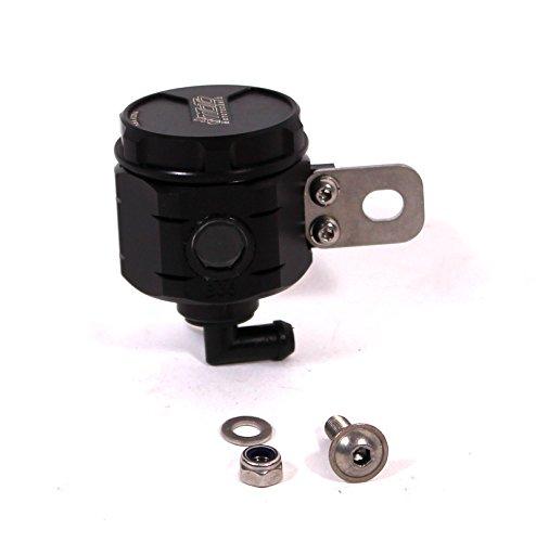 GSG Mototechnik 製 YAMAHA MT07 2014y'以降 モデル用 リア マスター リザーバー オイル タンク アルミ削り出し BLUCK (黒色) アルマイト 仕上げ   B00OCERNO6
