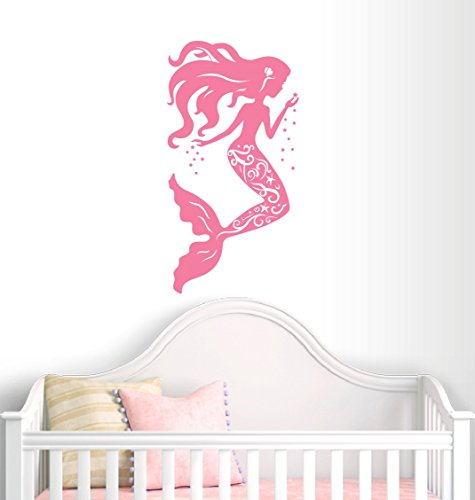 Cheap  Mermaid Wall Decal Nursery Decor - Girl Decor - Home Decor -..