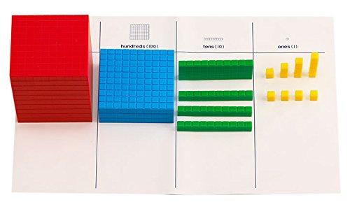 Base 10 Block (Didax Educational Resources Interlocking Base Ten Blocks)
