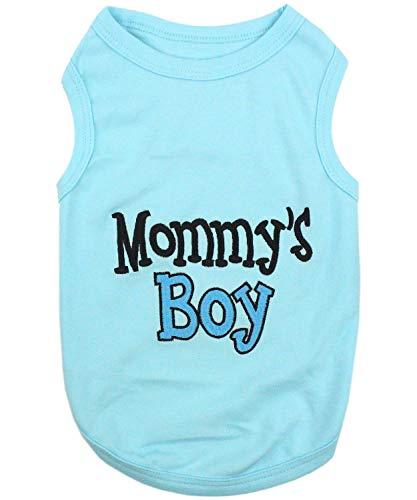 Parisian Pet Mommy's Boy T-Shirt, M]()