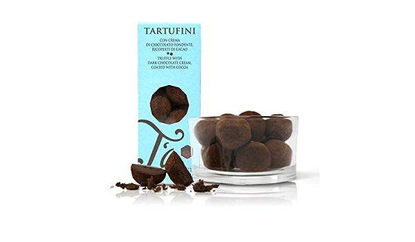 Ta Milano Trufas de Chocolate Negro Cubiertas de Cacao en ...