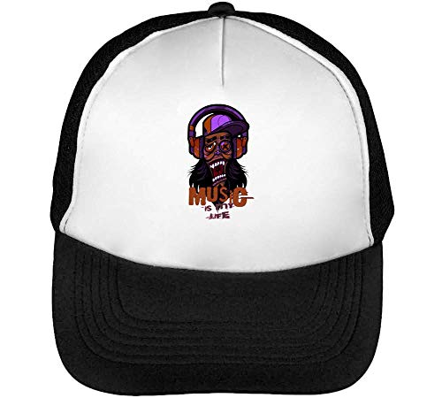 To Life Negro Music Gorras Snapback Going Hipster Crazy Beisbol Nice Hombre Blanco Is Techno My 8wwEOCBq