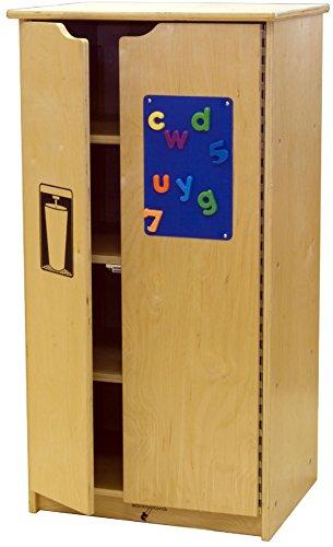 - Learningground Birch Home School Play Refrigerator & Storage (20