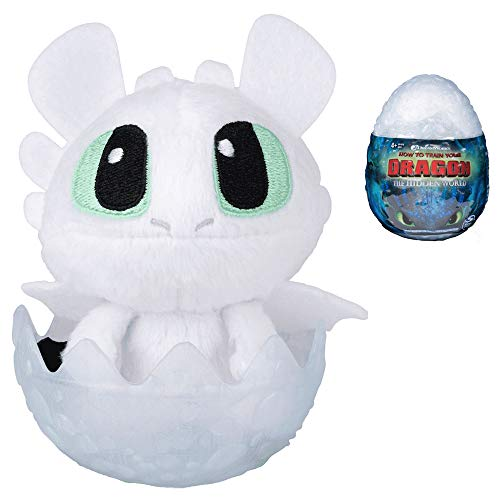 Baby Light Fury How to Train Your Dragon The Hidden World Plush Figure 3
