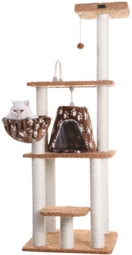 Armarkat A6403 Classic Cat Tree with Basket, 64